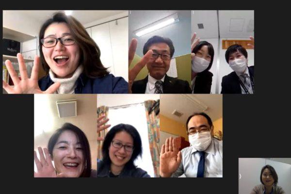 「YOKOTE HOPPERS」の初ZOOM会議!