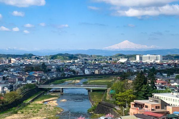 秋田県横手市は気持ちの良いお天気!