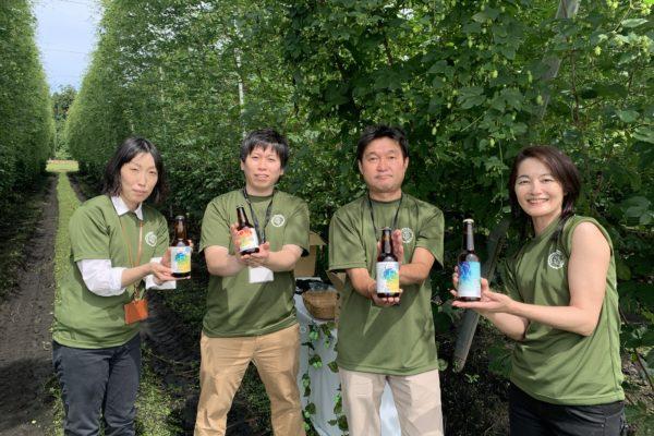 横手産ホップIBUKIを使用したクラフトビール「横手産ホップ」シリーズ発売開始!
